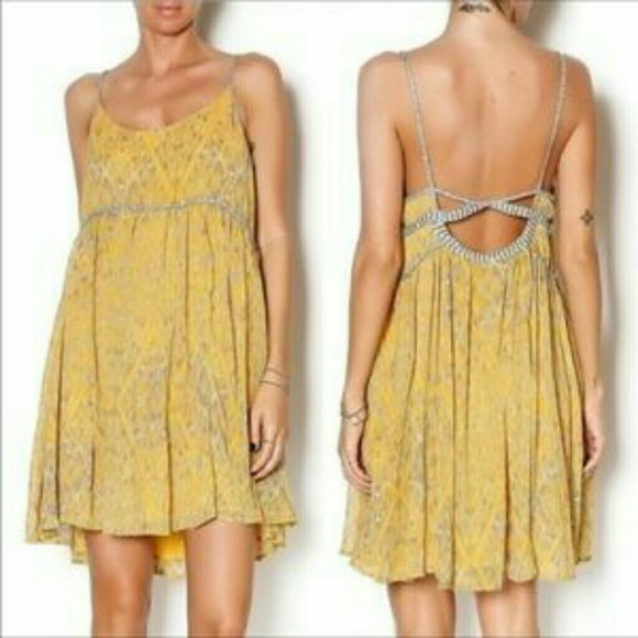 5ff0b42c7746e Free People Dress with Braided Straps